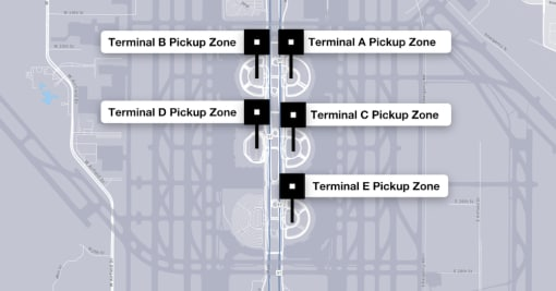 Instructions For Drivers At Dallas/Fort-Worth International (DFW ...