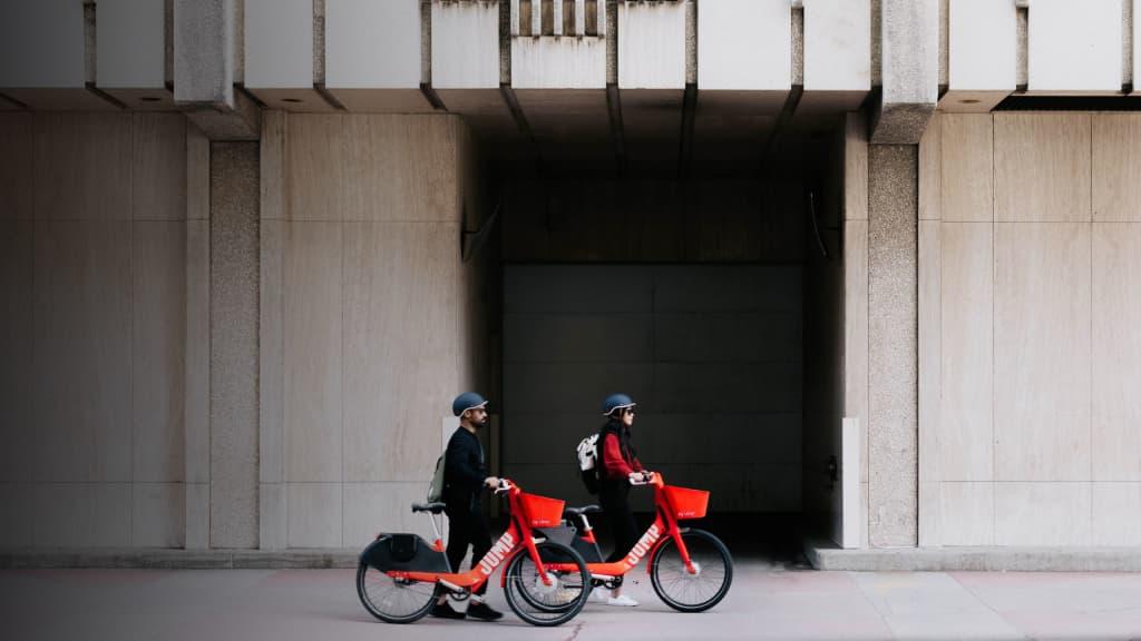 Washington Dc Bike Share Rental Jump Electric Bikes