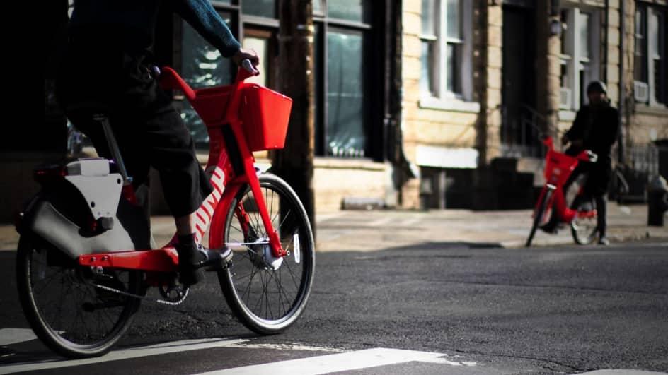 Berlin Bike Share & Rental  JUMP Electric Bikes