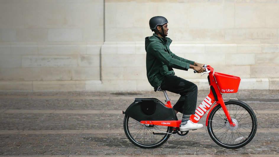 Brussels Electric Bikes Rental - JUMP