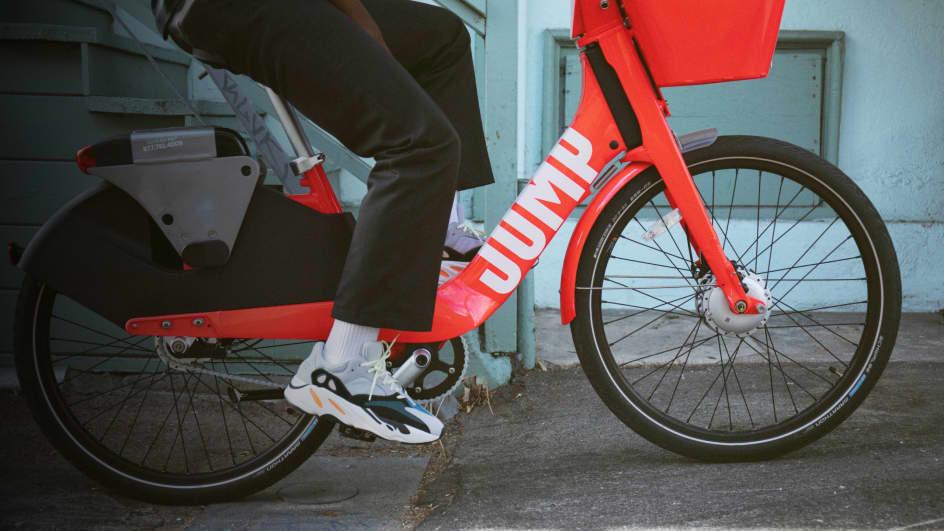 Santa Cruz Bike Share & Rental  JUMP Electric Bikes