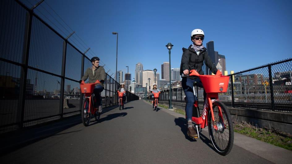 Seattle - Electric Bike Share Rental - JUMP Bikes