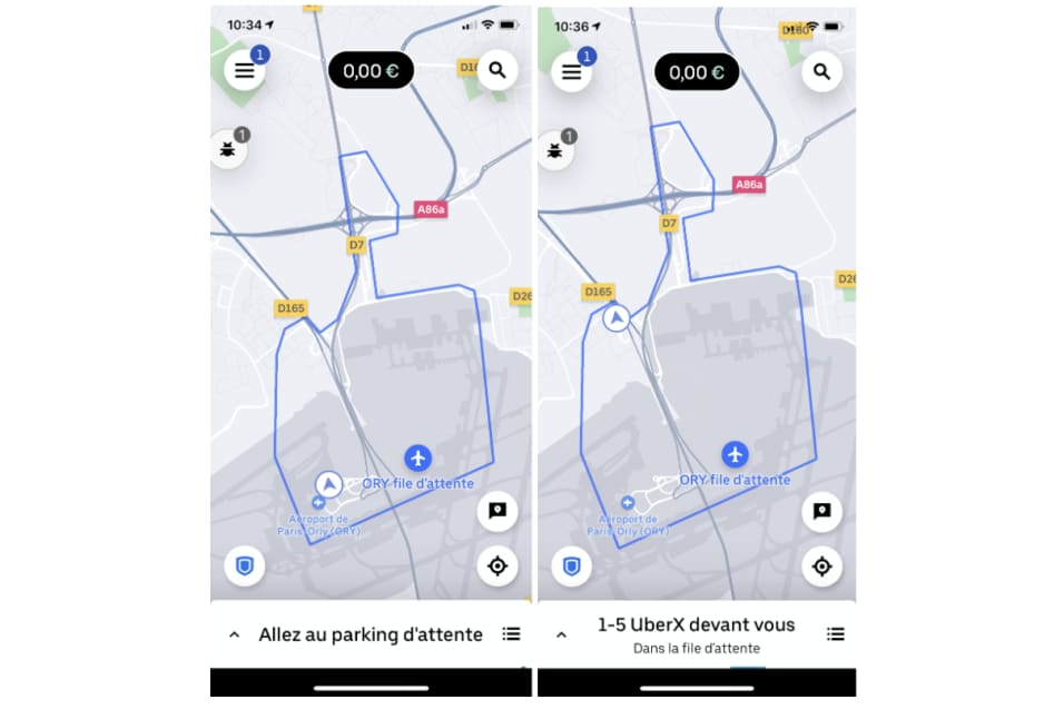 Paris Orly Airport Aeroports Conduire Uber